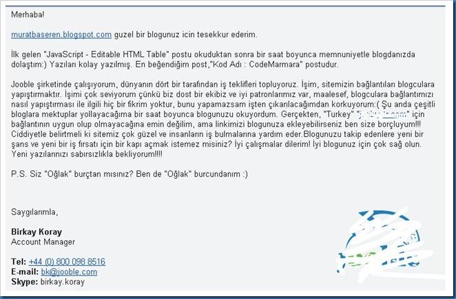Blog Dolandırıcılığı