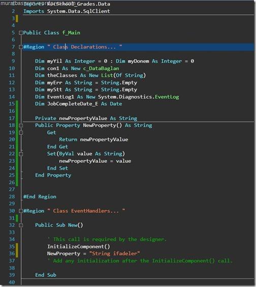 Visual Studio 2010 IDE Color Theme