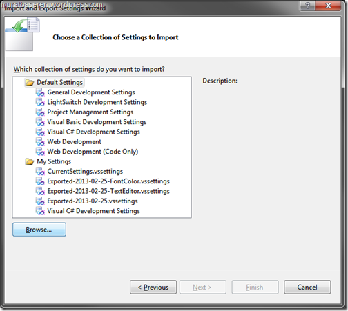 Visual Studio 2010 IDE Color Theme