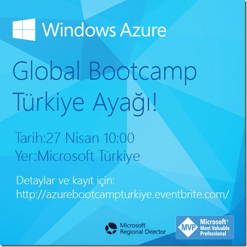 Global Windows Azure Bootcamp - İstanbul