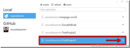 GitHub for Windows Uygulaması Üzerinden Repository Oluşturma-3