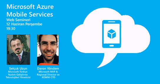 Azure Mobile Services Webineri Haziran