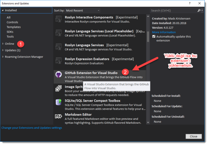 5-visual-studio-github-extension-kurulumju